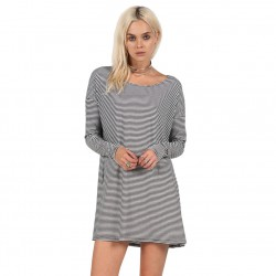 Volcom Lived In Stripedress black