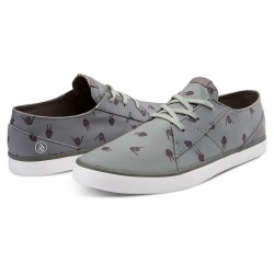 Volcom Lo Fi worn heather grey