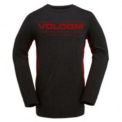 Volcom Tds Base Layer Crew heather black