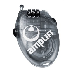 Amplifi Wire Lock Small clear black