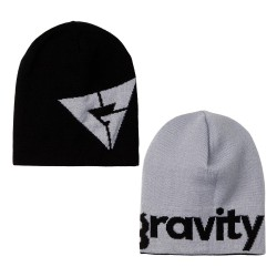 Gravity Logo Reversible black/grey