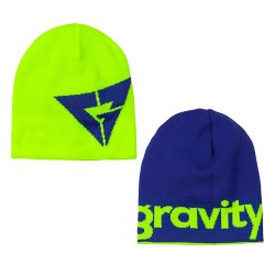 Gravity Logo Reversible lime/blue