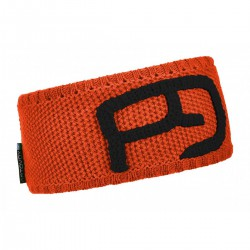 Ortovox Headband Rock'n'wool crazy orange