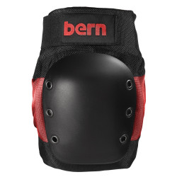 Bern Adult Pad Set red on black 2017