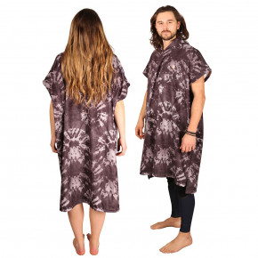 Go to the product Poncho After Be Hippie charcoal 2019
