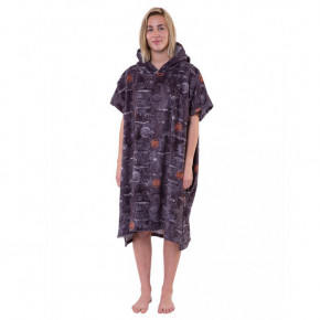 Go to the product Poncho After Sea World dark grey 2019