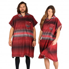 Go to the product Poncho After Stripes red 2019
