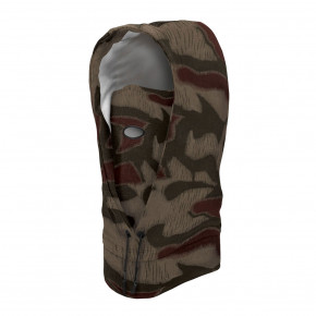 Go to the product Balaclava Airhole Airhood Drytech rain camo 2019/2020