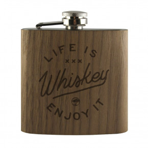 Przejść do produktu Piersiówka Arbor Life Is Whiskey walnut 2018/2019