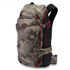 Go to the product Snowboard backpack Dakine Team Heli Pro 24L sammy carlson camo 2019/2020