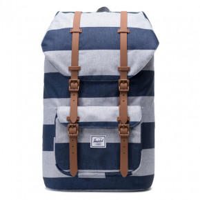 Go to the product Backpack Herschel Little America border stripe/saddle brown 2019
