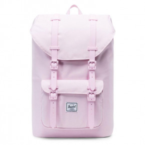 Go to the product Backpack Herschel Little America Mid pink lady crosshatch 2019
