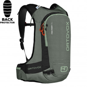 Go to the product Snowboard backpack Ortovox Free Rider 18 green forest 2019/2020