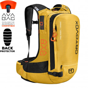 Go to the product Snowboard backpack Ortovox Free Rider 22 Without Kit yellowstone 2019/2020