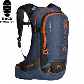 Go to the product Snowboard backpack Ortovox Free Rider 24 night blue blend 2019/2020