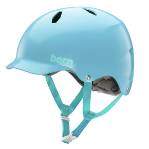 Go to the product Helmet Bern Bandita satin light blue 2018