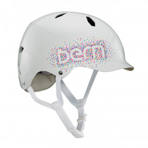 Go to the product Helmet Bern Bandito gloss white confetti 2020