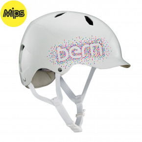 Go to the product Helmet Bern Bandito Mips gloss white confetti 2019