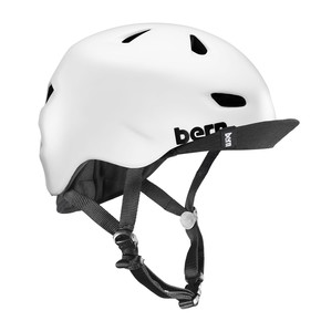 Go to the product Helmet Bern Brentwood satin white 2017