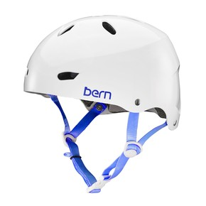 Go to the product Helmet Bern Brighton H2O gloss white 2017