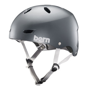 Go to the product Helmet Bern Brighton satin metallic storm 2018