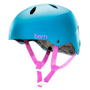 Go to the product Helmet Bern Diabla satin cyan blue 2016