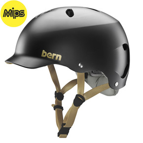 Go to the product Helmet Bern Lenox Mips satin black 2018