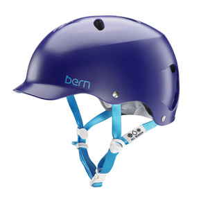 Go to the product Helmet Bern Lenox Team satin midnight blue 2018