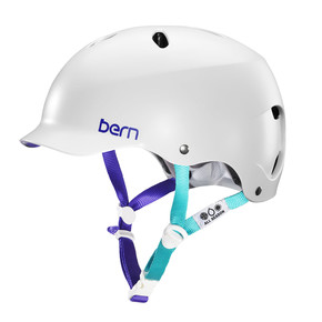 Go to the product Helmet Bern Lenox Team satin white 2018