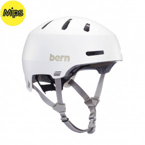 Go to the product Helmet Bern Macon 2.0 Mips matte white 2020
