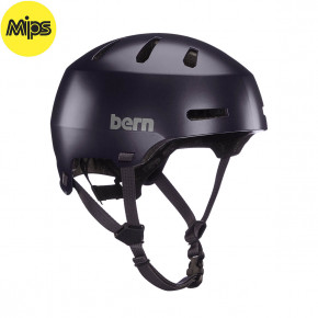 Go to the product Helmet Bern Macon 2.0 Mips satin deep purple 2020