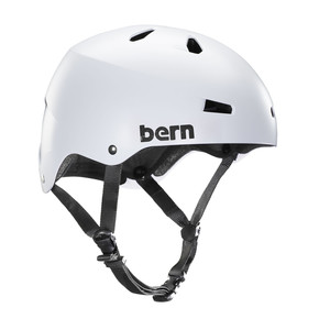 Go to the product Helmet Bern Macon satin white 2018