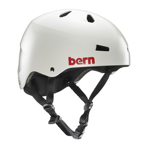 Przejść do produktu Kask Bern Macon Team satin light grey 2017