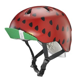 Go to the product Helmet Bern Nina satin red strawberry 2017