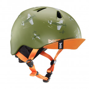Go to the product Helmet Bern Nino matte green dogfight 2019