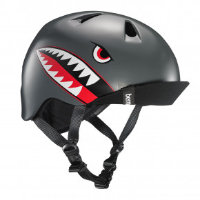 Przejść do produktu Kask Bern Nino satin grey flying tiger 2019
