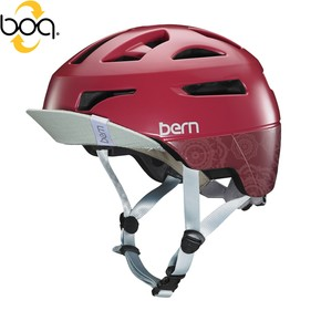 Go to the product Helmet Bern Parker satin cranberry mandala 2017