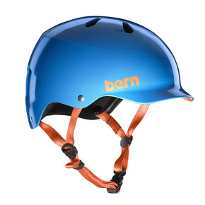 Go to the product Helmet Bern Watts Team gloss azure blue 2018