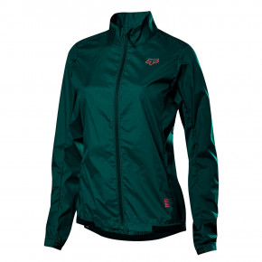 Go to the product Bike jacket Fox Wms Defend Wind dark green 2020