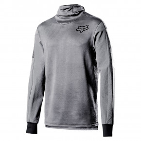 Go to the product Bike jersey Fox Defend Thermo Hooded steel grey 2020