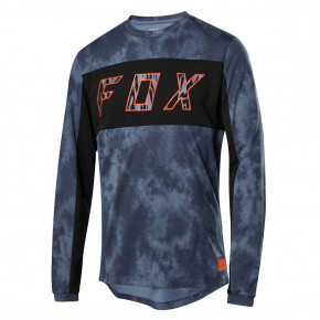 Go to the product Bike jersey Fox Ranger Dr Ls Elevated blue 2020