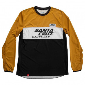 Go to the product Bike jersey Santa Cruz MX Enduro Jersey gold 2020