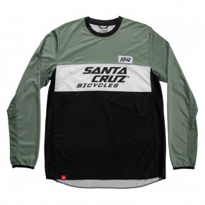 Go to the product Bike jersey Santa Cruz MX Enduro Jersey olive 2020