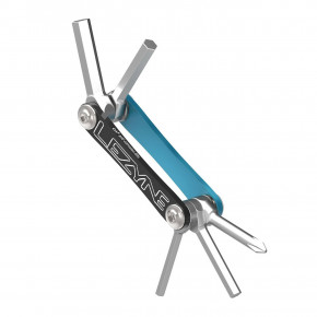 Go to the product Bike Tools Lezyne V - 5 blue/nickel