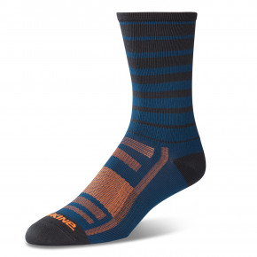 Go to the product Bike socks Dakine Singletrack slate blue stripe 2019