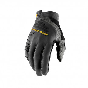Go to the product Bike glove 100% R-Core charcoal 2020