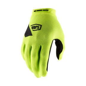 Go to the product Bike glove 100% Ridecamp fluo yellow 2020