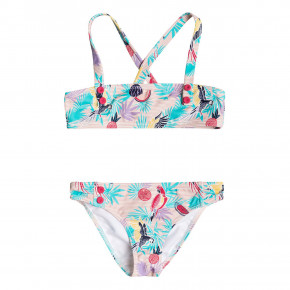 Go to the product Bikiny Roxy Vintage Tropical Bandeau Set tropical peach parrots island 2018