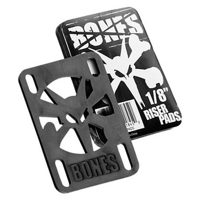 Go to the product Bones Bones Risers 1/8 Inch black