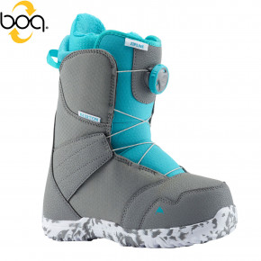 Go to the product Boots Burton Zipline Boa grey/surf blue 2018/2019